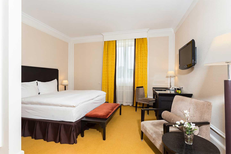 Delux Doppelzimmer im Hotel Euler