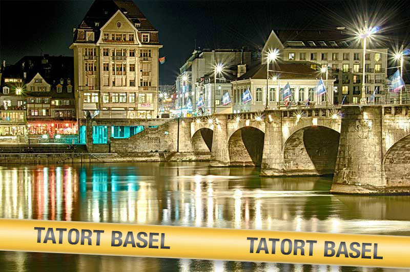 Krimidinner Tatort Basel bei Nacht