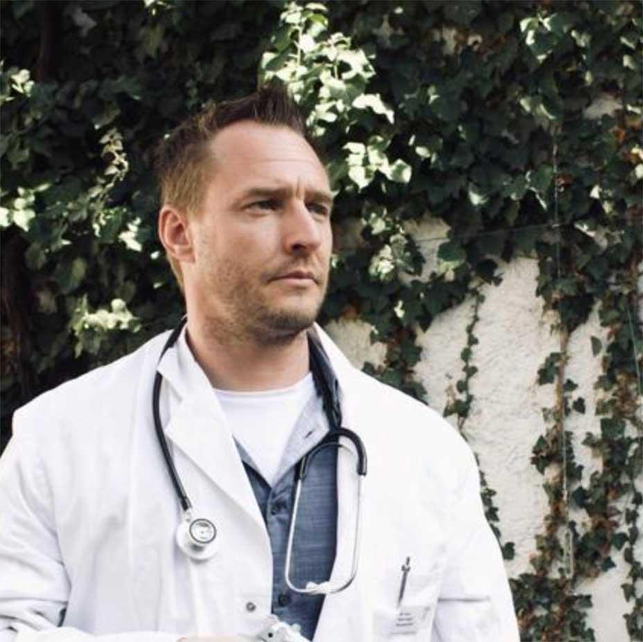Schauspieler als Arzt