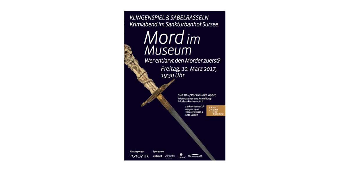 Plakat von Mord-im-Museum