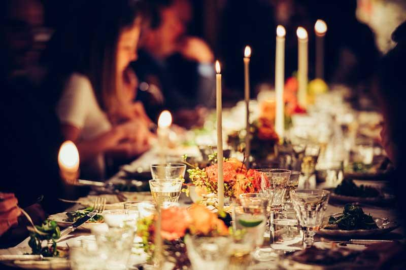 Firmenjubiläum mit köstlichem Abendessen