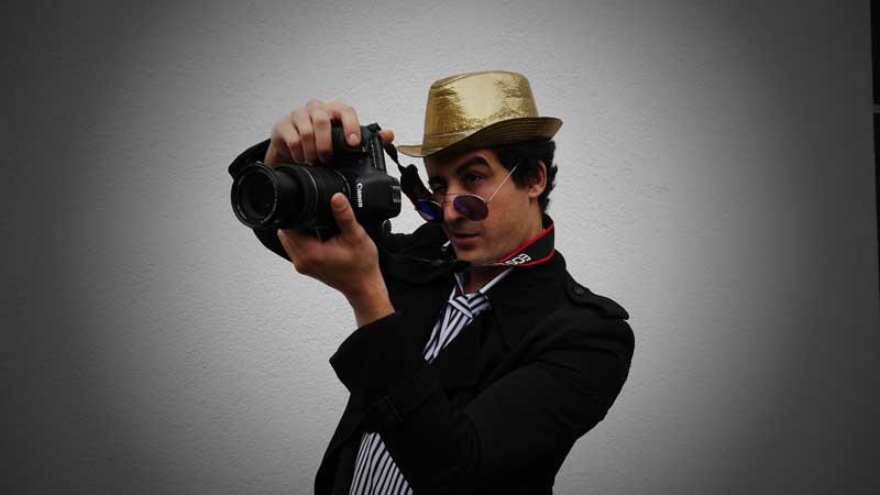 Der Fotograf als Überraschungsgast