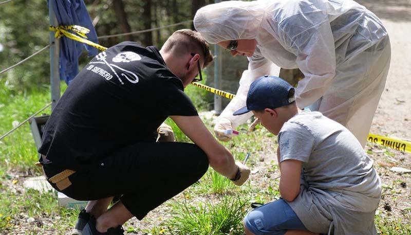 Krimiweekend Tatort Untersuchung