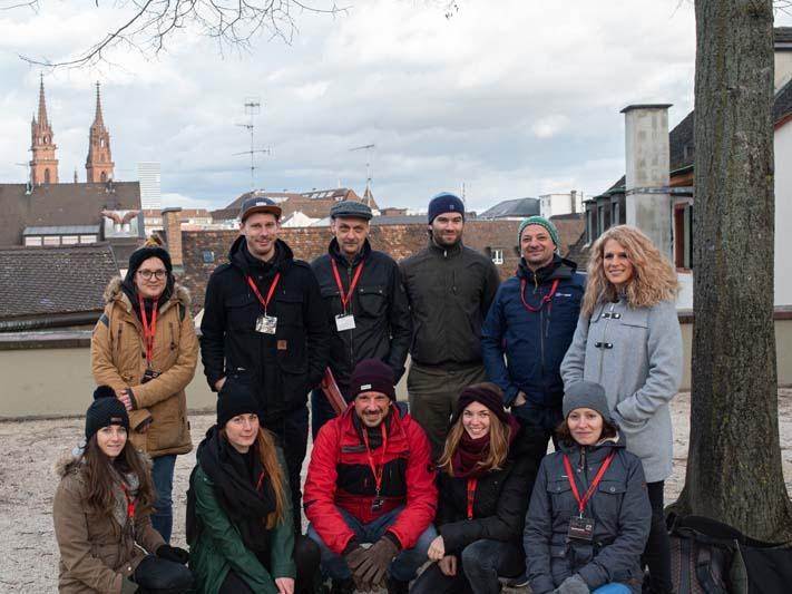Teamfoto der Waldhirsch Stadtkrimi Gruppe